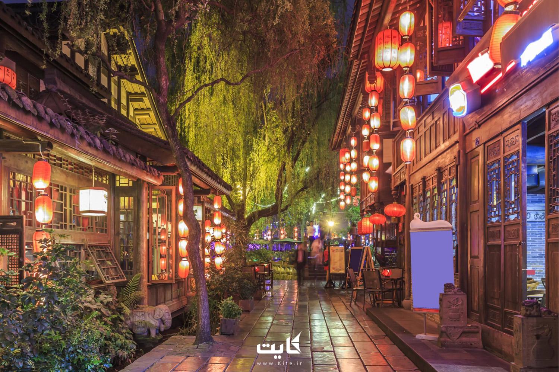 خیابان جینلی (Jinli) در چین