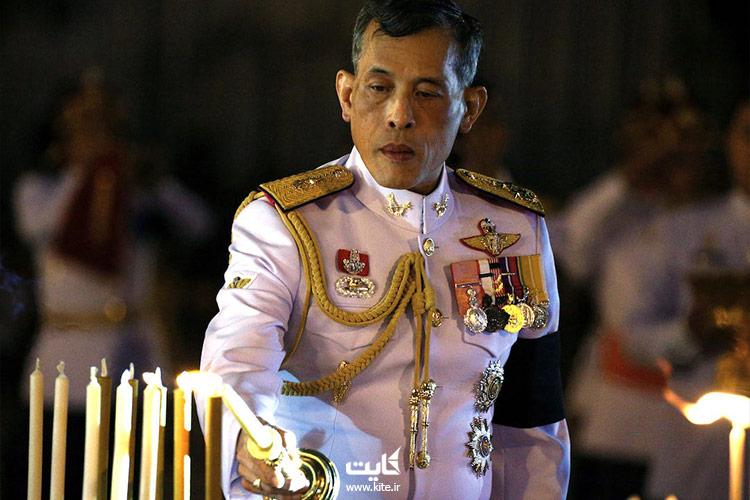 سوگواری پادشاه تایلند