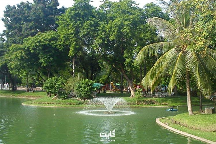 دریاچه پارک لومپینی بانکوک