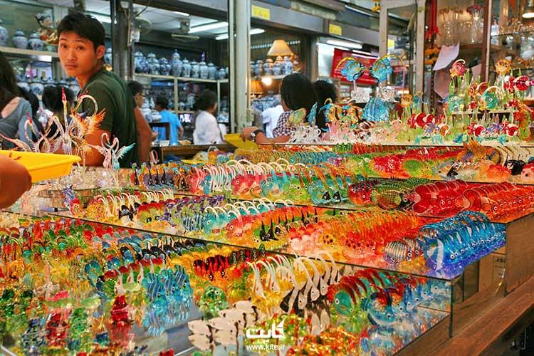 دکوریها و تزئینات جمعه بازار بانکوک