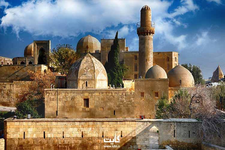 قصر شیروان کوه باکو