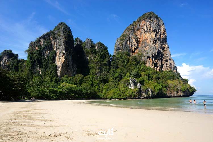 ساحل رایله تایلند در شرق آسیا