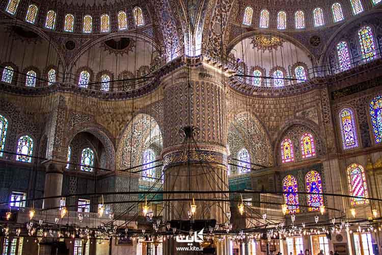 مسجد آبی تاریخی استانبول