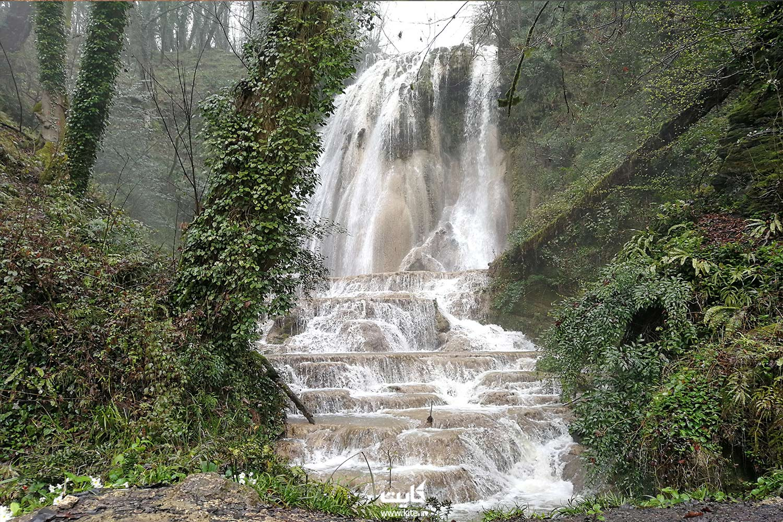 آبشار آهکی اسکلیم