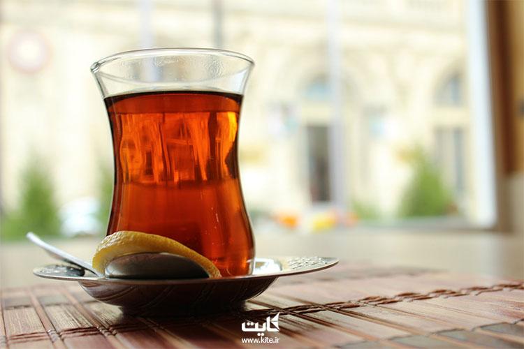 چای زعفران، آویشن باکو