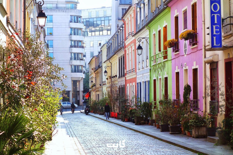 خیابان روکرمیکس (Rue Cremieux) در پاریس