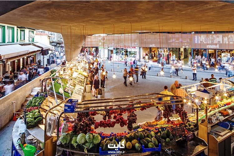 بازار ماهیفروشان بشیکتاش استانبول