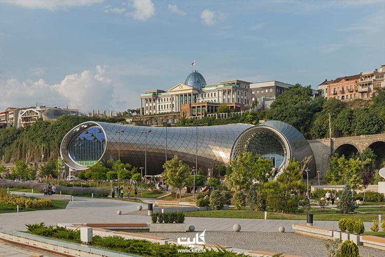 ریکه پارکی مدرن در گرجستان: