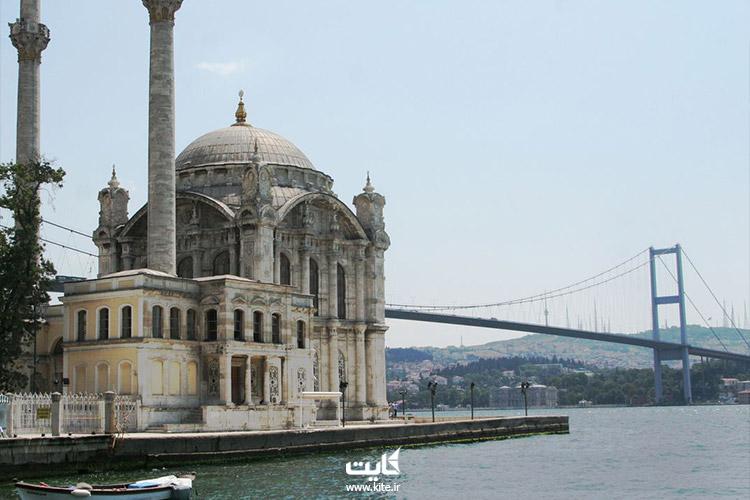 مسجد ارتاکوی استانبول