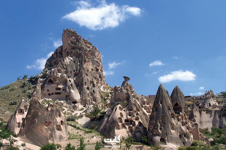 صخرههای کاپادوکیای ترکیه