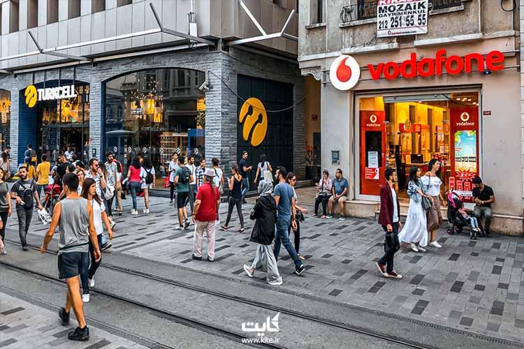 خرید سیم کارتهای توریستی در استانبول