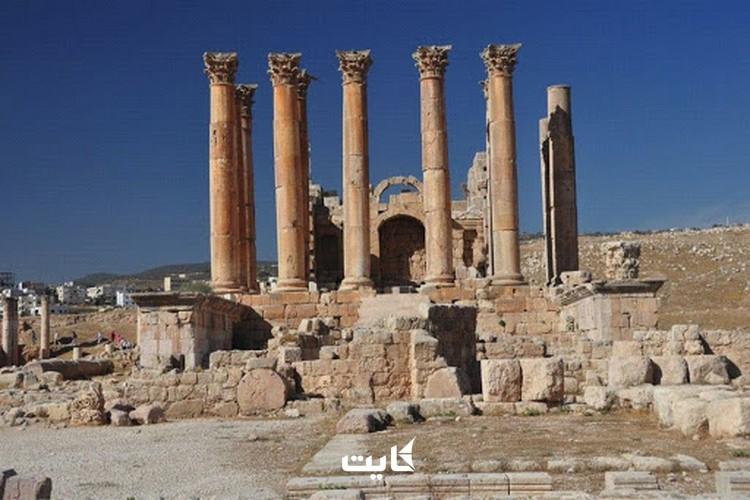 ستونهای معبد آرتمیس کوش آداسی