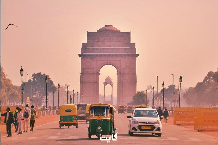 عکس از دروازه هند