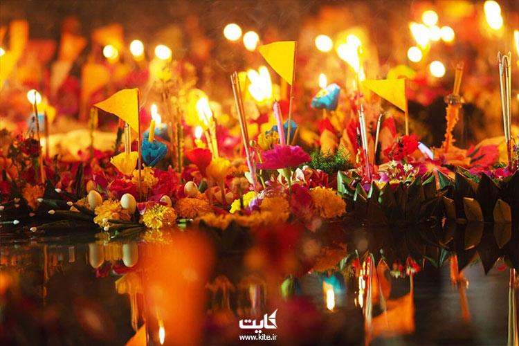 مراسمهای اطراف جشن فانوس تایلند