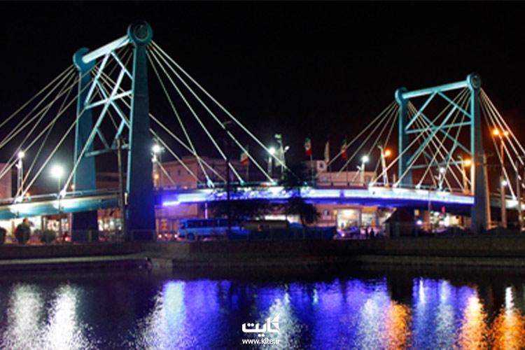پل کابلی امام رضا (ع)، آبادان، خوزستان