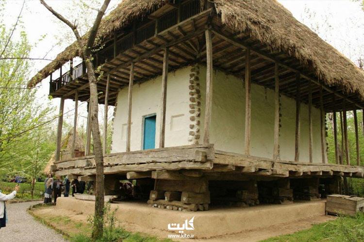 نمایی از موزه میراث روستایی گیلان