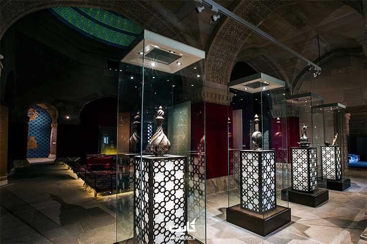 موزه قصر شیروان کوه باکو