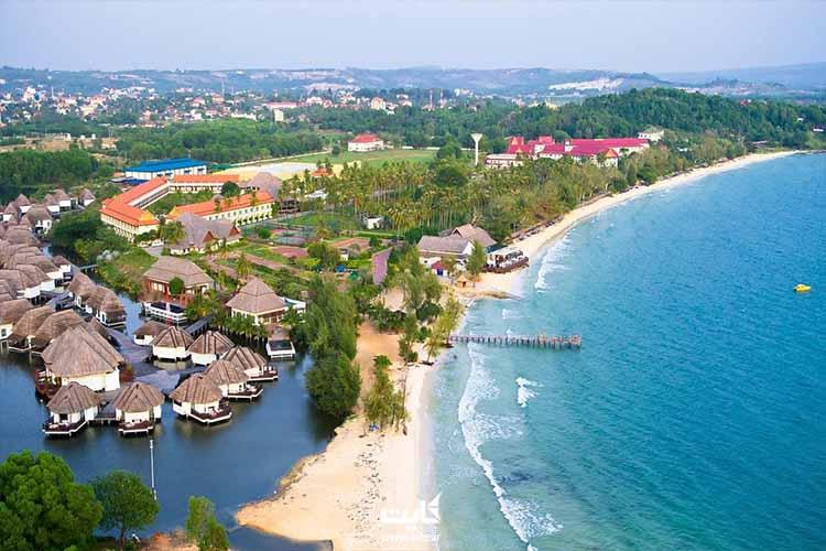 ساحل سیهانوکویل کامبوج در شرق آسیا