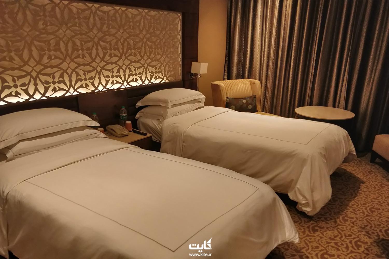 هتل ۵ ستارهی تاج پالاس شهر دهلی نو