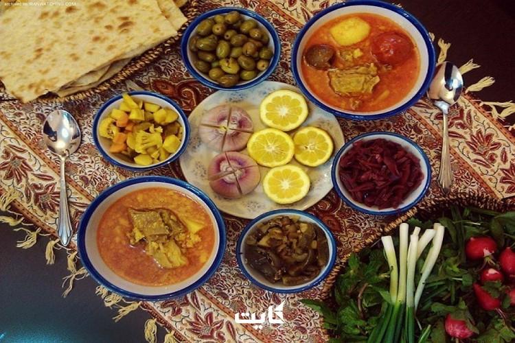 بهترین غذاهای غرب ایران