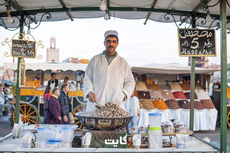 غذاهای خیابانی مراکش