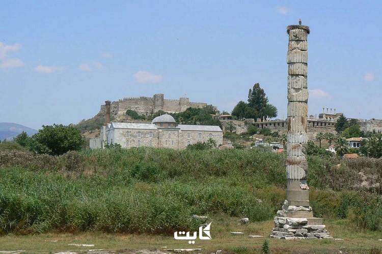 معماری معبد Artemis کوش آداسی