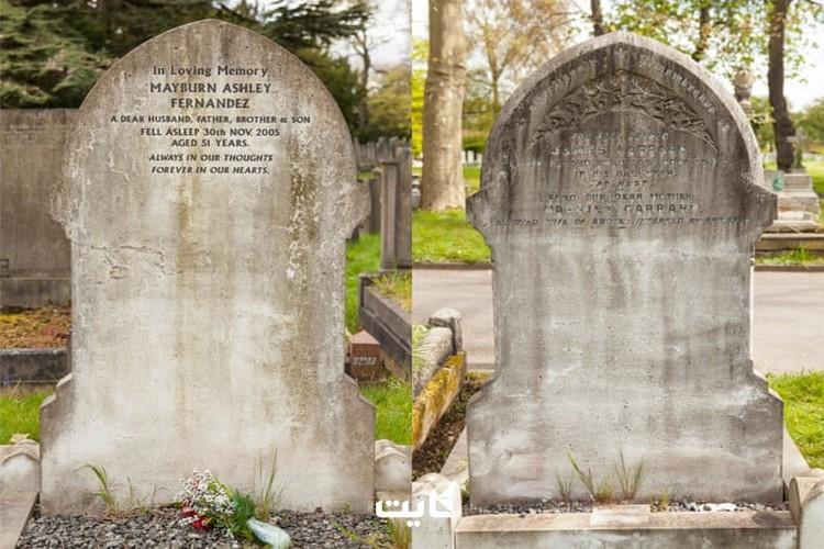 سنگ قبر در فرانسه