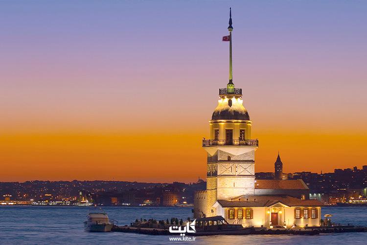 برج مایدن استانبول