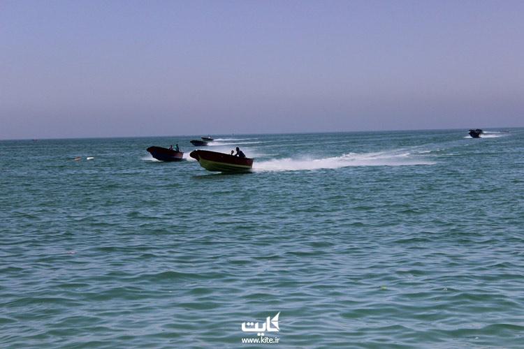 قایق سواری در چابهار
