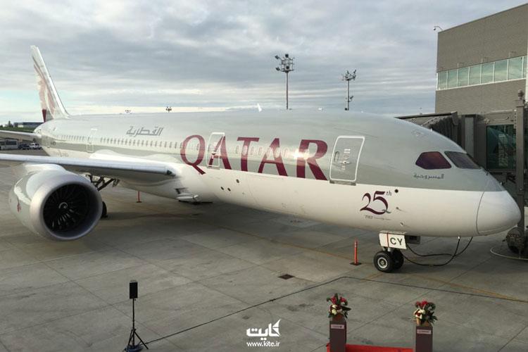 لغو پرواز قطر ایرویز به دلیل کرونا