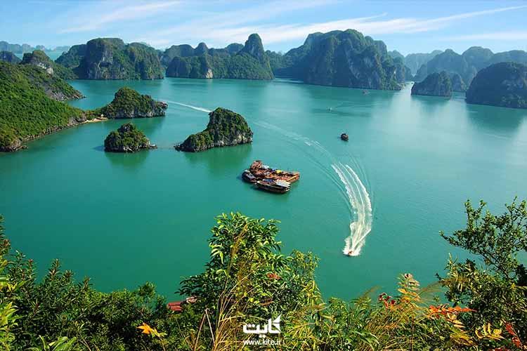 ساحل نا ترانگ ویتنام در شرق آسیا
