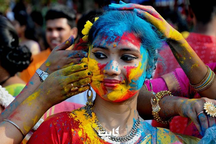 کارناوال هولی، هند