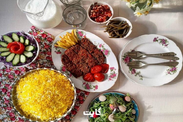 بهترین غذاهای شرق ایران