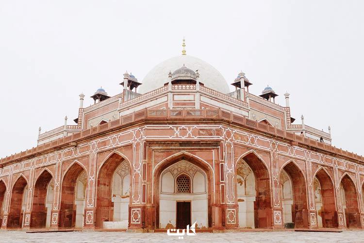 بنای تاریخی در دهلی نو هند