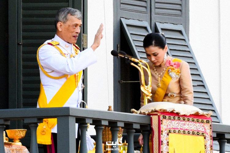 پادشاه تایلند و همسر سومش