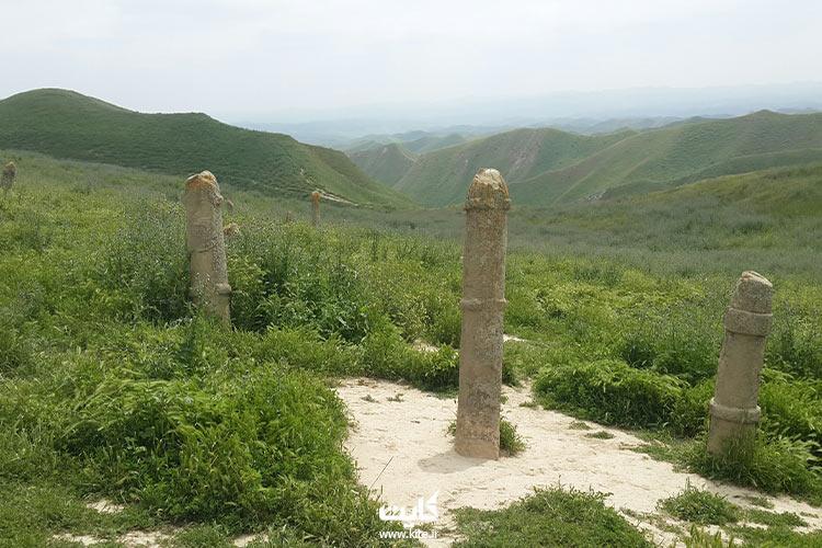 نمای دیگری از قبرستان خالد نبی