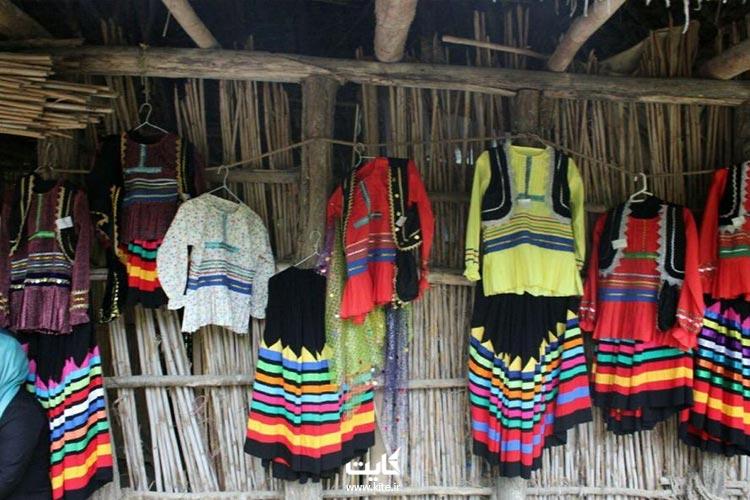 لباسهای محلی در موزه میراث روستایی گیلان
