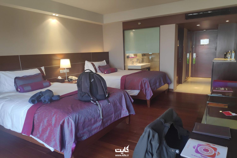 هتل ۵ ستارهی لالیت شهر دهلی نو