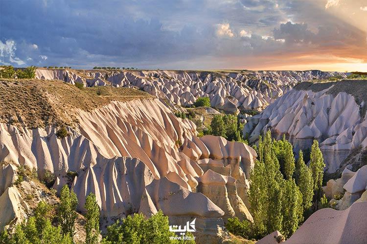 درههای کاپادوکیای ترکیه