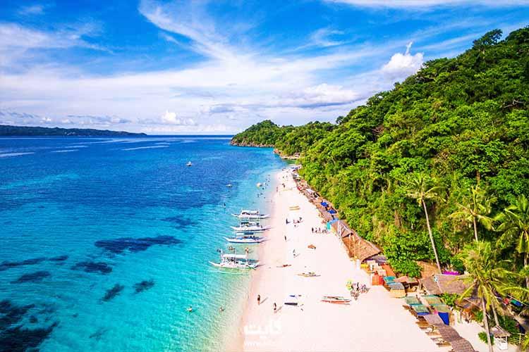 ساحل بوراکای فیلیپین در شرق آسیا