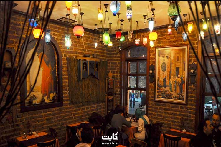 کافه نِو-آی در محله بالات