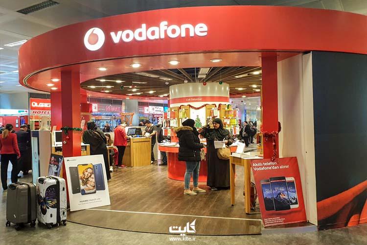 خرید سیم کارت از وودافون در استانبول