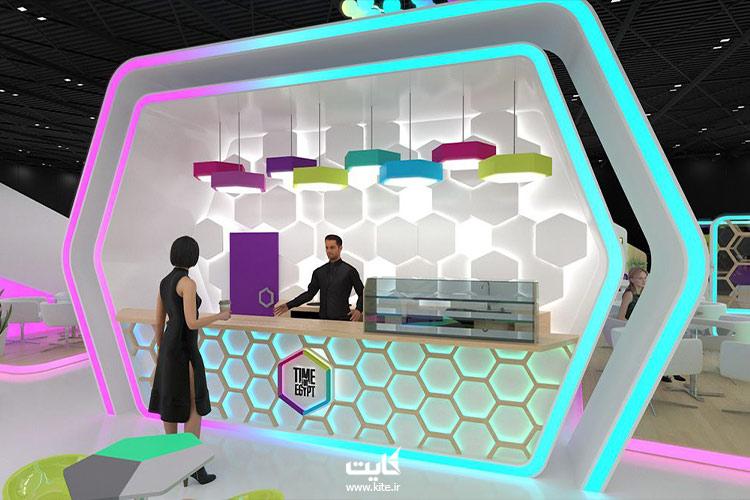 غرفهای در نمایشگاه جیتکس دبی