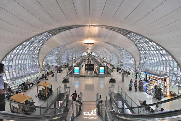 سالن فرودگاه بانکوک