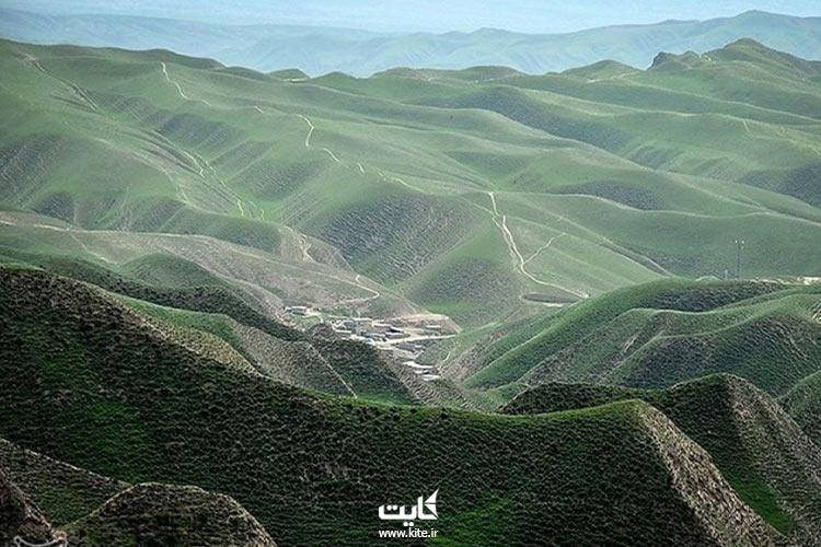 تپه ماهورهای آرامگاه خالد نبی