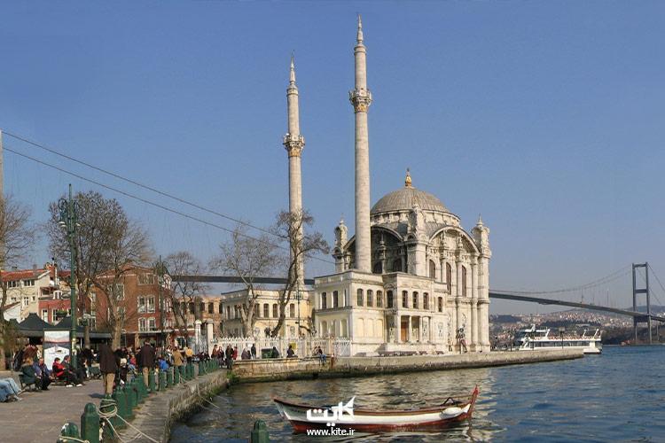 اسکله مسجد ارتاکوی استانبول