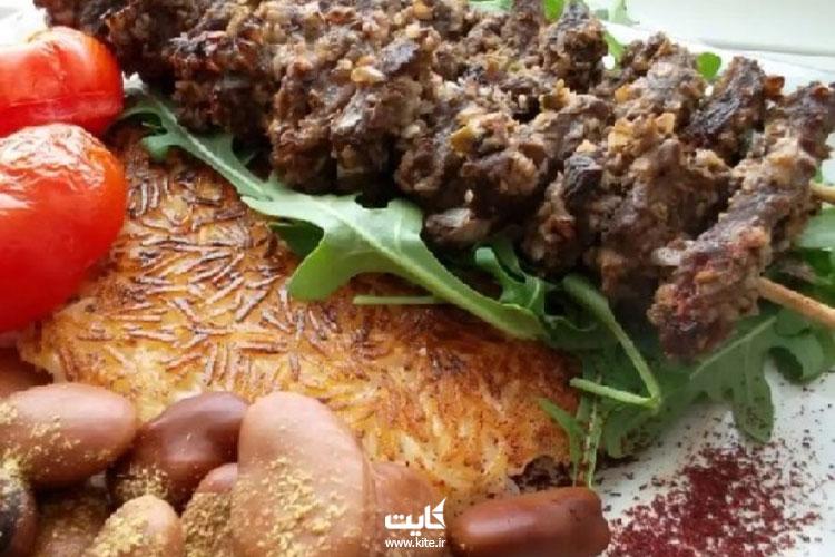 کباب ترش، غذای محلی گیلان