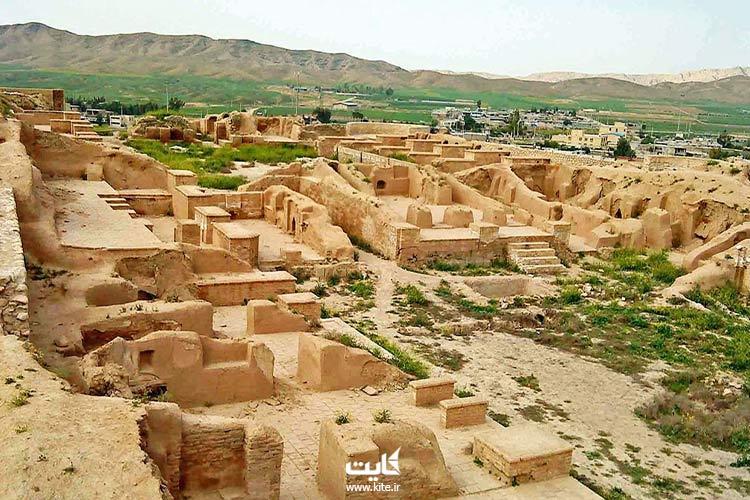 شهر باستانی حریره جزیره کیش