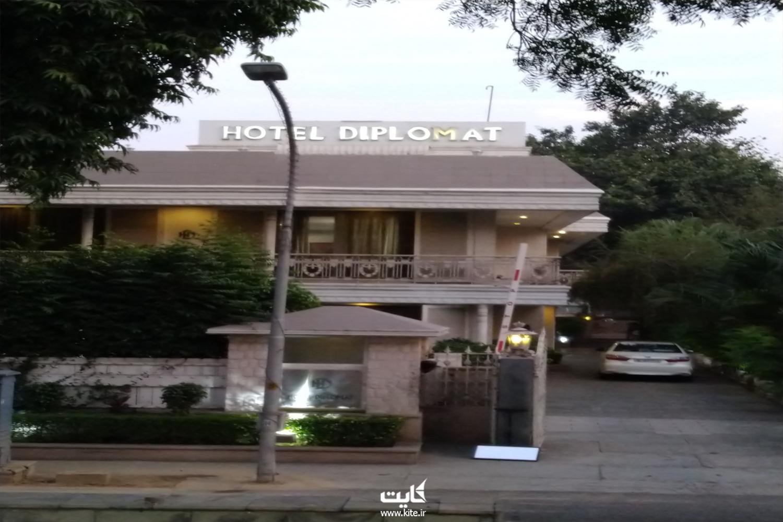 هتل ۳ ستارهی دیپلمات شهر دهلی