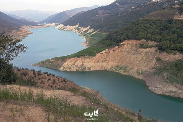 تصویری از دریاچه الندان